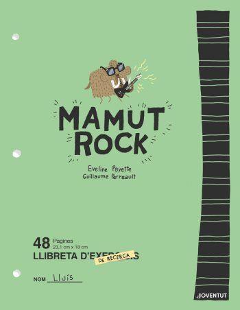Imatge de la portada del llibre infantil Mamut rock