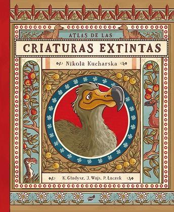 Imatge de la portada del llibre infantil Criaturas extintas
