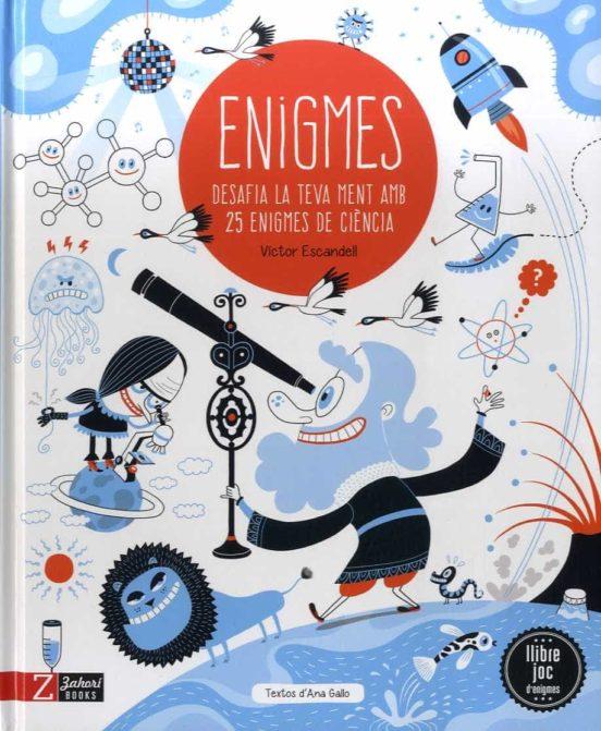 Imatge de la portada del llibre infantil Enigmes