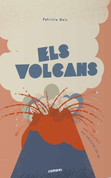 Imatge de la portada del llibre infantil Els volcans