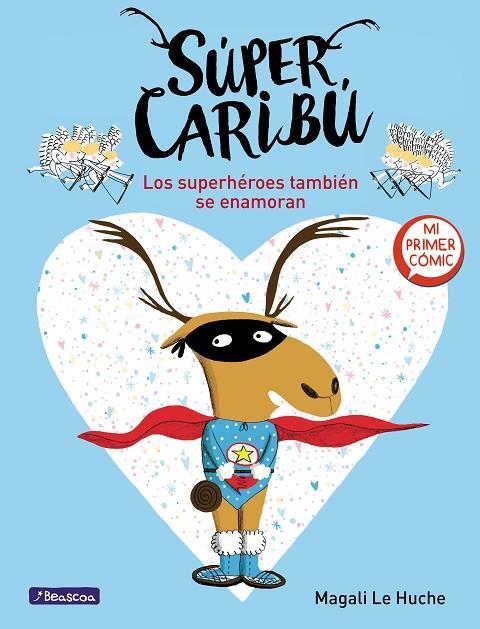 Imatge de la portada del llibre infantil Super Caribu