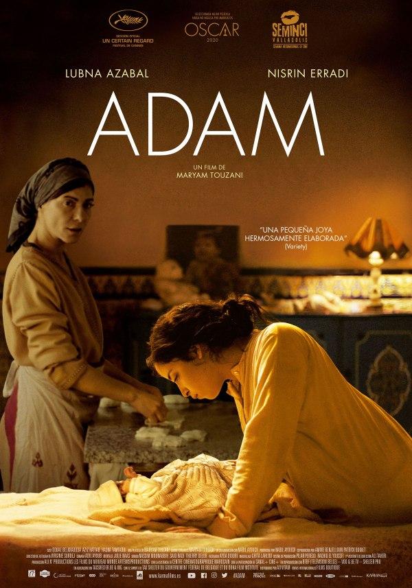 Imatge del cartell de la pel·lícula Adam