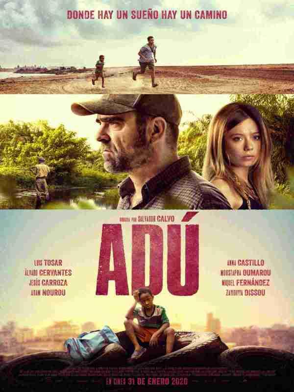 Imatge del cartell de la pel·lícula Adú