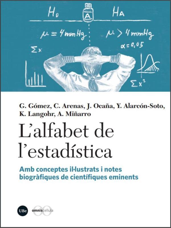 Imatge de la portada del llibre L'alfabet de l'estadística