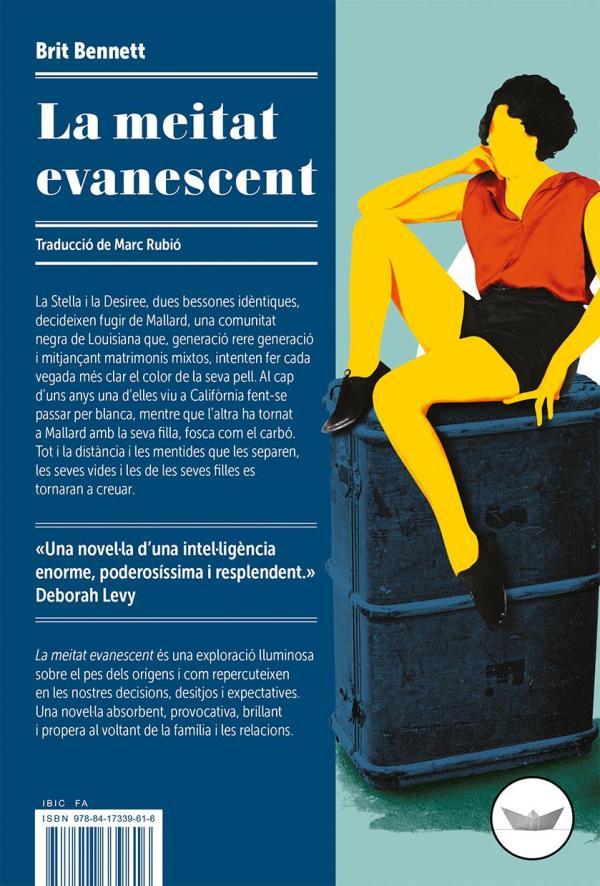 Imatge de la portada de la novel·la La meitat evanescent