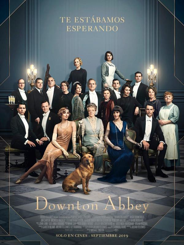 Imatge del cartell de la pel·lícula Downtown Abbey
