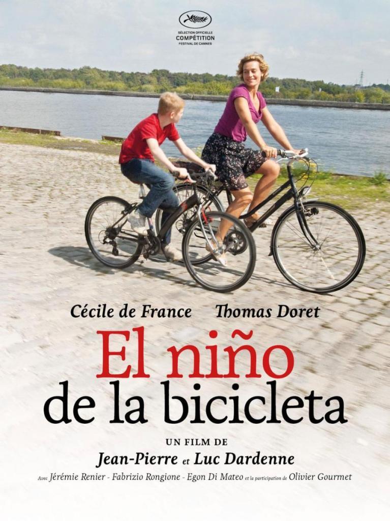 Imatge del cartell de la pel·lícula El niño de la bicicleta