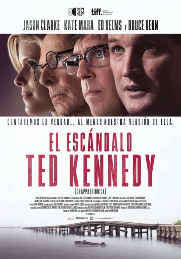 Imatge del cartell de la pel·lícula El escándalo Ted Kennedy