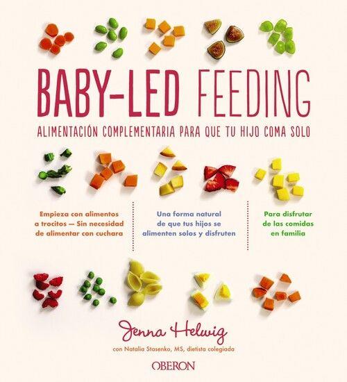 Imatge de la portada del llibre infantil Baby-Led Feeding