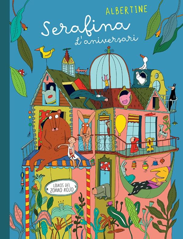 Imatge de la portada del llibre infantil Serafina l'aniversari
