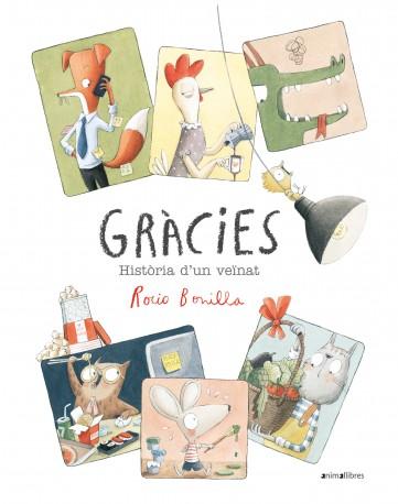 Imatge de la portada del llibre infantil Gràcies