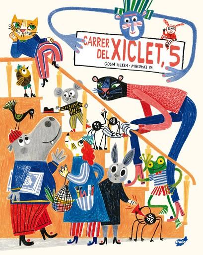 Imatge de la portada del llibre infantil Carre dels xiclets