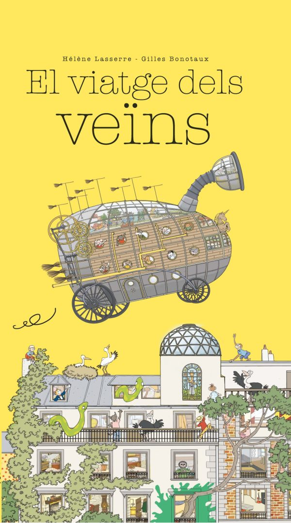 Imatge de la portada del llibre infantil El viatge dels veïns
