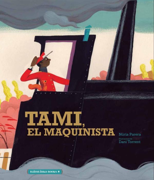 Imatge de la portada del llibre infantil Tami el maquinista