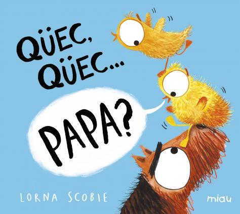 Imatge de la portada del llibre infantil Qüec qüec