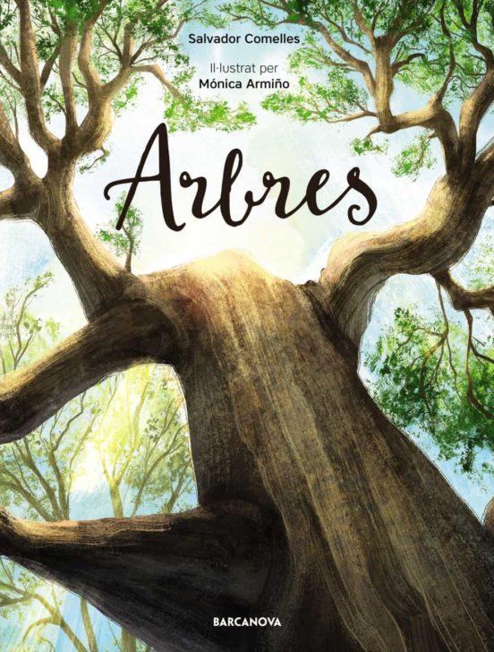 Imatge de la portada del llibre infantil Arbres