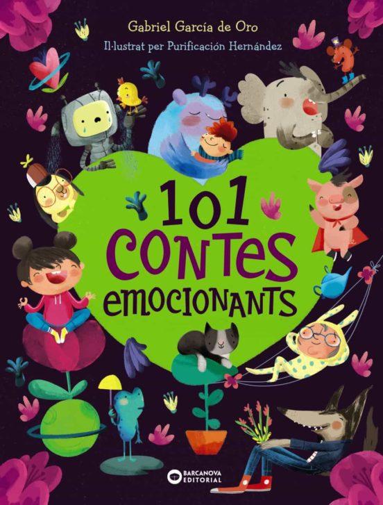 Imatge de la portada del llibre infantil 101 contes emocionants