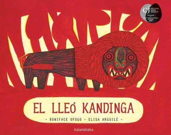 Imatge de la portada del llibre infantil El lleó Kandinga