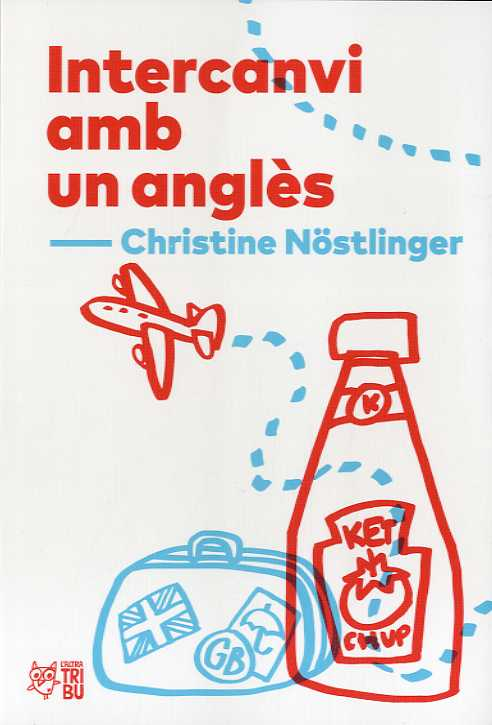 Imatge de la portada del llibre infantil Intercanvi amb un anglès