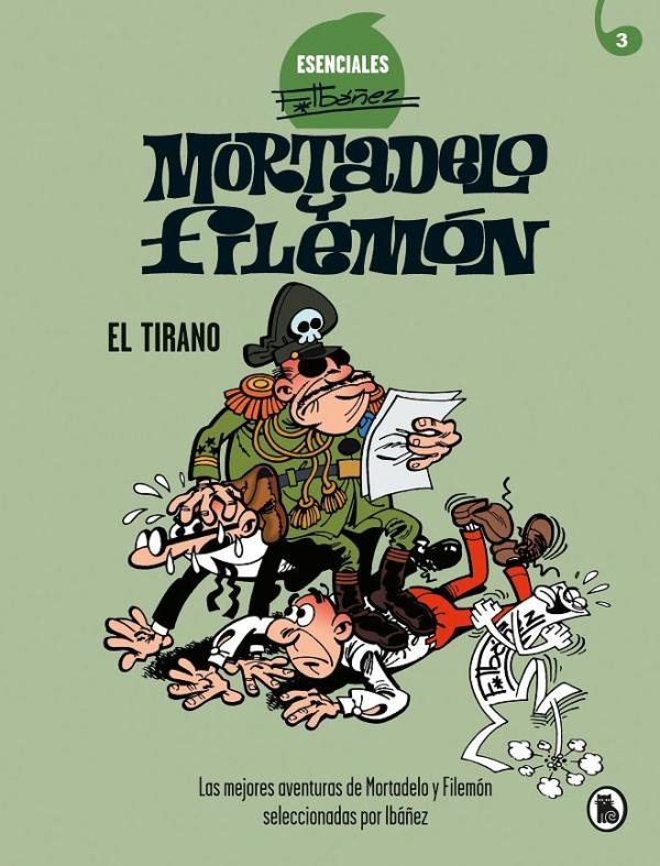 Imatge de la portada del llibre infantil Mortadelo y Filemón