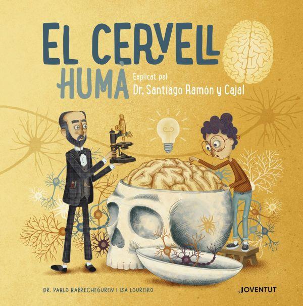 Imatge de la portada del llibre infantil El cervell humà