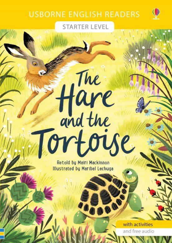 Imatge de la portada del llibre infantil The hare and the tortoise