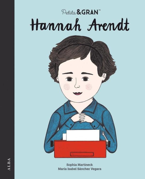 Imatge de la portada del llibre infantil Hannah Arendt