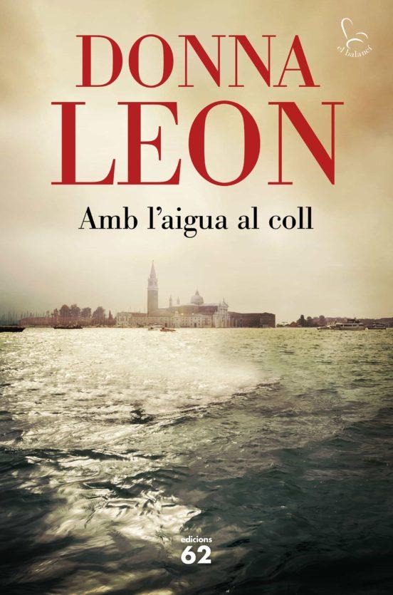 Imatge de la portada de la novel·la Amb l'aigua al coll
