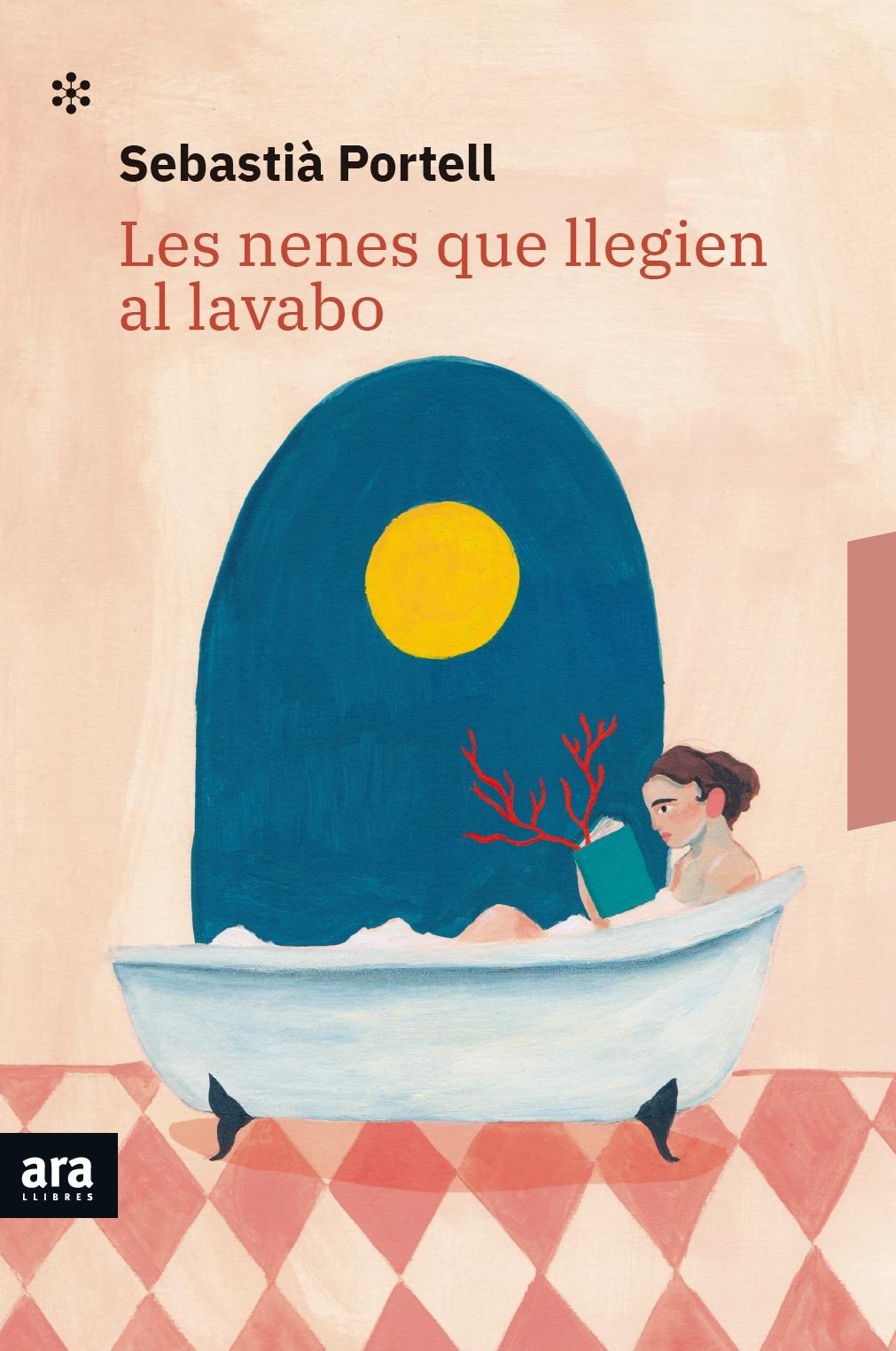 Imatge de la portada del llibre Les nenes que llegien al lavabo