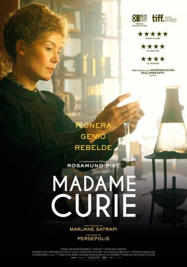 Imatge del cartell de la pel·lícula Madame Curie