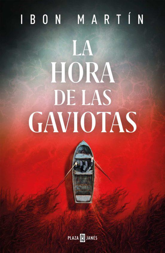 Imatge de la portada de la novel·la La hora de las gaviotas