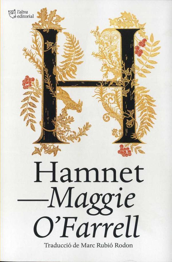 Imatge de la portada de la novel·la Hamnet