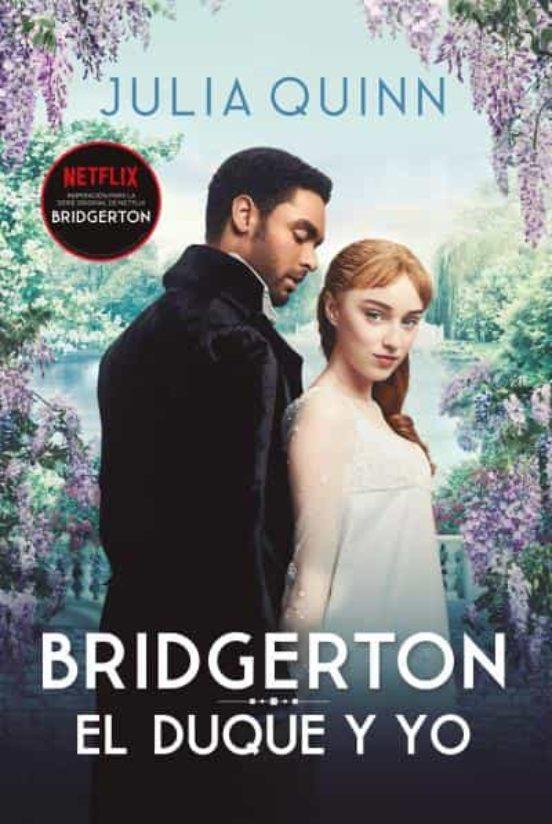 Imatge de la portada de la novel·la Bridgerton. El duque y yo