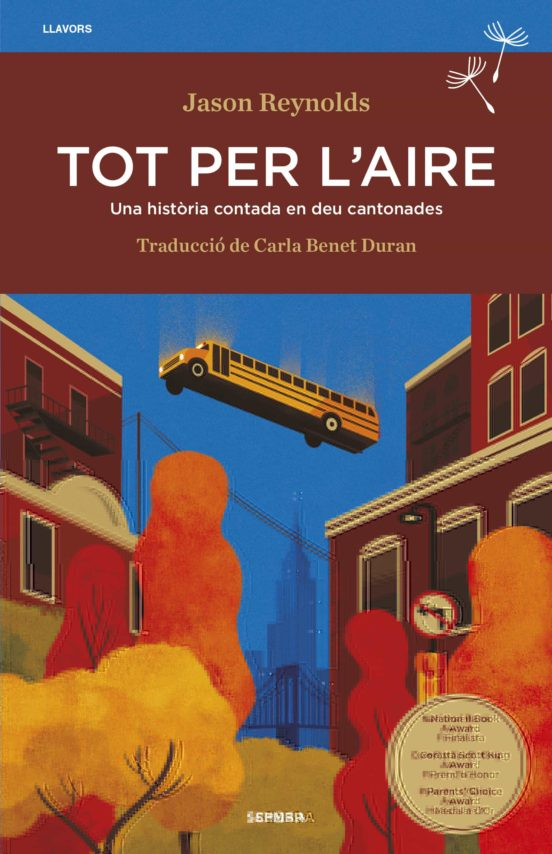 Imatge de la portada de la novel·la juvenil Tot per l'aire
