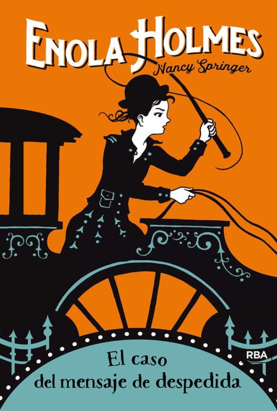 Imatge de la portada de la novel·la juvenil Enola Holmes
