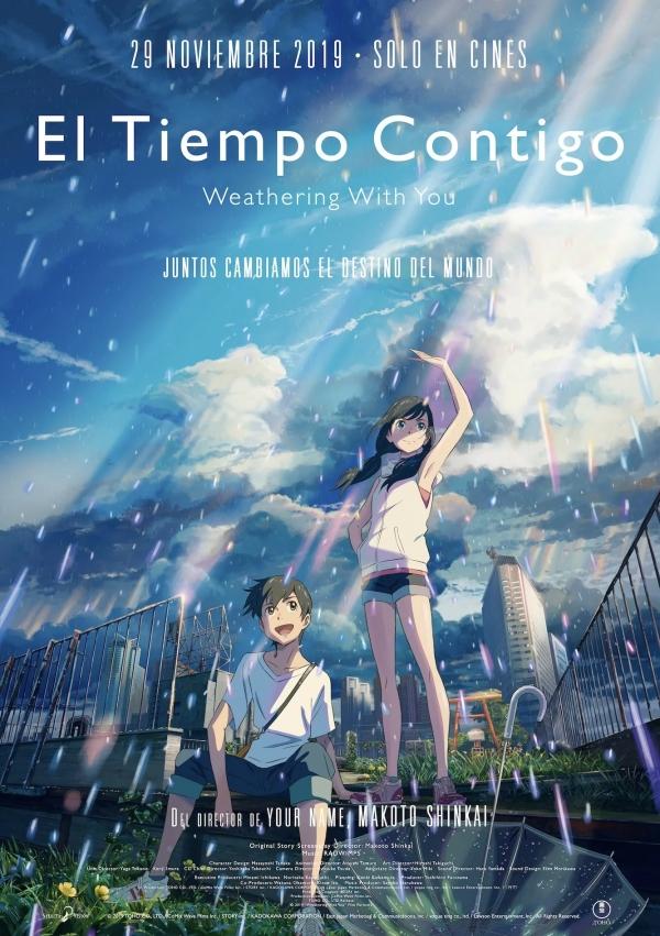 Imatge del cartell de la pel·lícula El tiempo contigo