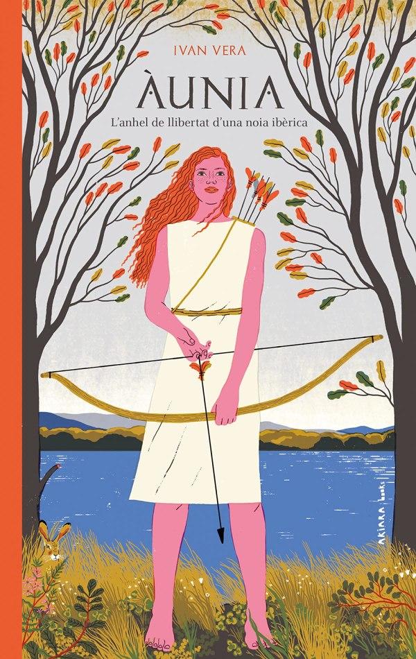 Imatge de la portada de la novel·la juvenil Àunia