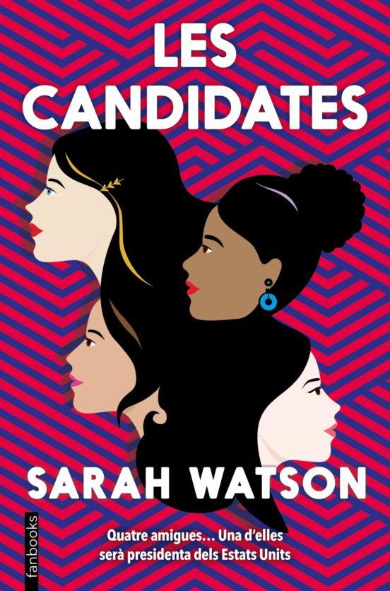 Imatge de la portada de la novel·la juvenil Les candidates